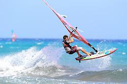 26.07.2015, Costa Calma, Fuerteventura, ESP, PWA Windsurfing Freestyle Grand Slam, im Bild Albert Antoine NC-21 // during the PWA Windsurfing Freestyle Grand Slam at the Costa Calma in Fuerteventura, Spain on 2015/07/26. EXPA Pictures © 2015, PhotoCredit: EXPA/ Eibner-Pressefoto/ Roskaritz<br /> <br /> *****ATTENTION - OUT of GER*****