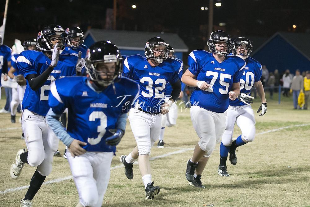 November/17/12:  Alumni Football, Madison vs William Monroe.  Madison wins 45-14.