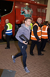 NEWCASTLE-UPON-TYNE, ENGLAND - Saturday, May 4, 2019: Liverpool's James Milner arrives ahead of the FA Premier League match between Newcastle United FC and Liverpool FC at St. James' Park. (Pic by David Rawcliffe/Propaganda)