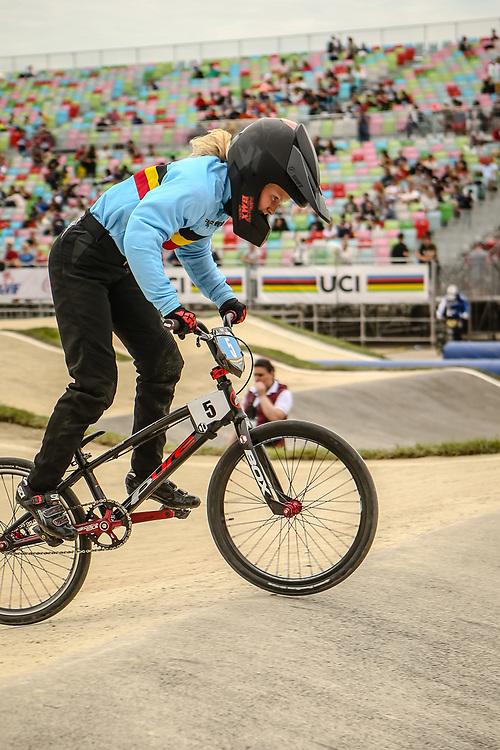 2018 UCI World Championships<br /> Baku, Azerbaijan<br /> 11 Girls #5 (LUMBEECK Sanne) BEL