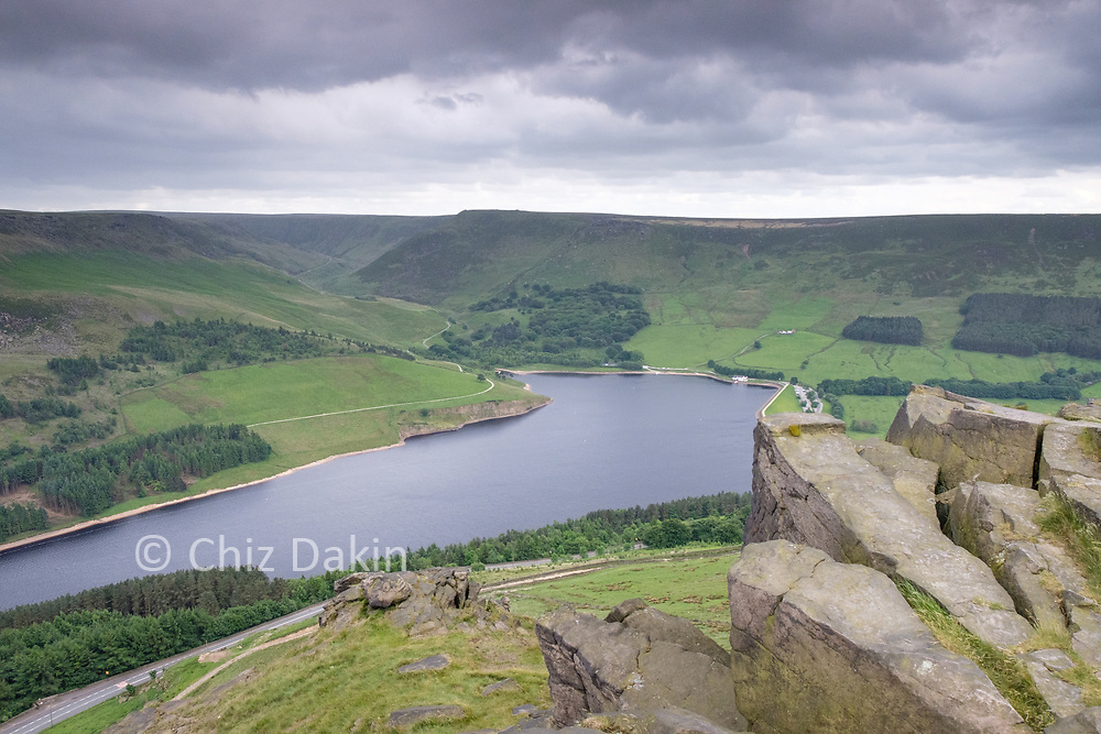 Great view over Dovestone reservoir from Alderman's Brow