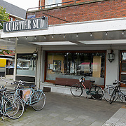 NLD/Amsterdam/20120905 - Exterieur van gesloten restaurant Quatier Sud Olympiaplein Amsterdam,