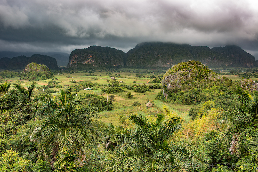Viñales Valley (Spanish: ''Valle de Viñales) is a UNESCO World Heritage area in the west of Cuba. The karstic environment and a particular micro climate makes it the perfect place to grow tobacco. Tobacco grown in this area is considered the best quality in the world.