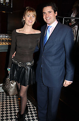 LADY EMILY COMPTON and EDWARD TAYLOR at a fund raising dinner hosted by Marco Pierre White and Frankie Dettori's in aid of Conservative Party's General Election Campaign Fund held at Frankie's No.3 Yeoman's Row,æLondon SW3 on 17th January 2005.<br /><br />NON EXCLUSIVE - WORLD RIGHTS