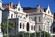 New Zealand, North Island, Wellington, Parliament library