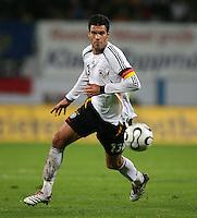 Fussball International Laenderspiel Testspiel Deutschland 2-0 Georgien Michael Ballack (GER) am Ball