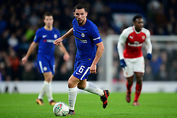 Danny Drinkwater of Chelsea - Mandatory by-line: Alex James/JMP - 10/01/2018 - FOOTBALL - Stamford Bridge - London, England - Chelsea v Arsenal - Carabao Cup semi-final first leg