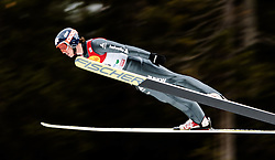 18.12.2015, Nordische Arena, Ramsau, AUT, FIS Weltcup Nordische Kombination, Skisprung, PCR, im Bild Tim Hug (SUI) // Tim Hug of Switzerland during Skijumping PCR of FIS Nordic Combined World Cup, at the Nordic Arena in Ramsau, Austria on 2015/12/18. EXPA Pictures © 2015, PhotoCredit: EXPA/ JFK
