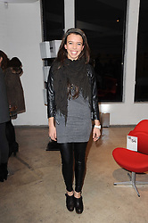 AMBER COLEMAN at the Polo Jeans Co. hosted Art Stars Auction in support of the Teenage Cancer Trust held at Phillips de Pury & Co, Howick Place, London on 6th December 2010.