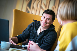 Ivica Kostelic during interview for Iceland expeditions on March 1 , 2019 in Hotel Spik, Gozd Martuljek, Slovenia. Photo by Peter Podobnik / Sportida