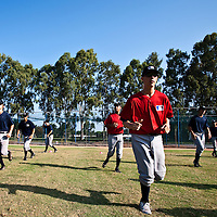 Baseball - MLB European Academy - Tirrenia (Italy) - 22/08/2009 - Players, training
