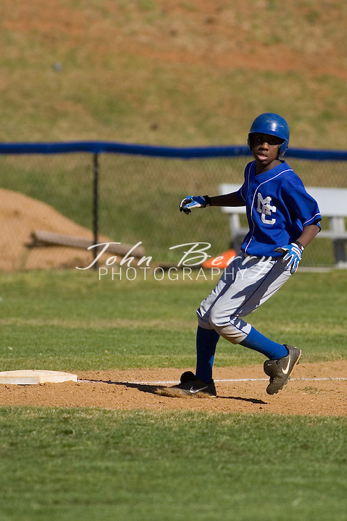 MCHS JV Baseball.vs George Mason.4/20/2007