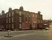 Old Dublin Amature Photos 1980s, Old Dublin Amature Photos March 1984 WITH, Amiens St, P&T Sorting Office, old house, 18 castle, avenue, Clontarf, protestant, church, bottom of Howth, rd, malahide rd, farmhouse, on hill, ford escort, car, Old Dublin Amature Photos January 1983 WITH, <br />
