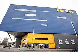 © Licensed to London News Pictures. 04/02/2020. Coventry, West Midlands, UK. The IKEA store in Coventry is set to close. The IKEA store in Coventry was the first City Centre based store opened by IKEA and created hundreds of jobs in Coventry. The store is set to close in the summer of 2020. Coventry will be the City of Culture in 2021. Photo credit: Dave Warren / LNP