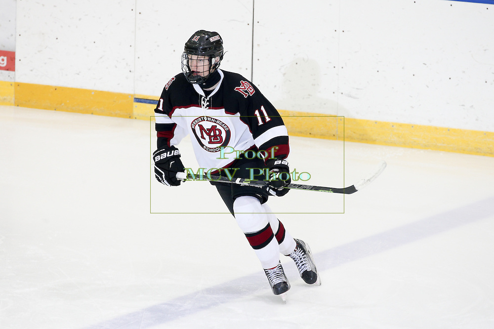 December 23, 2015: High School Ice Hockey; Delbarton at Morristown-Beard at William G Mennen Sports Arena