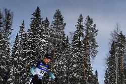 March 9, 2019 - –Stersund, Sweden - 190309 Simon Desthieux of France competes in the Men's 10 KM sprint during the IBU World Championships Biathlon on March 9, 2019 in Östersund..Photo: Petter Arvidson / BILDBYRÃ…N / kod PA / 92252 (Credit Image: © Petter Arvidson/Bildbyran via ZUMA Press)