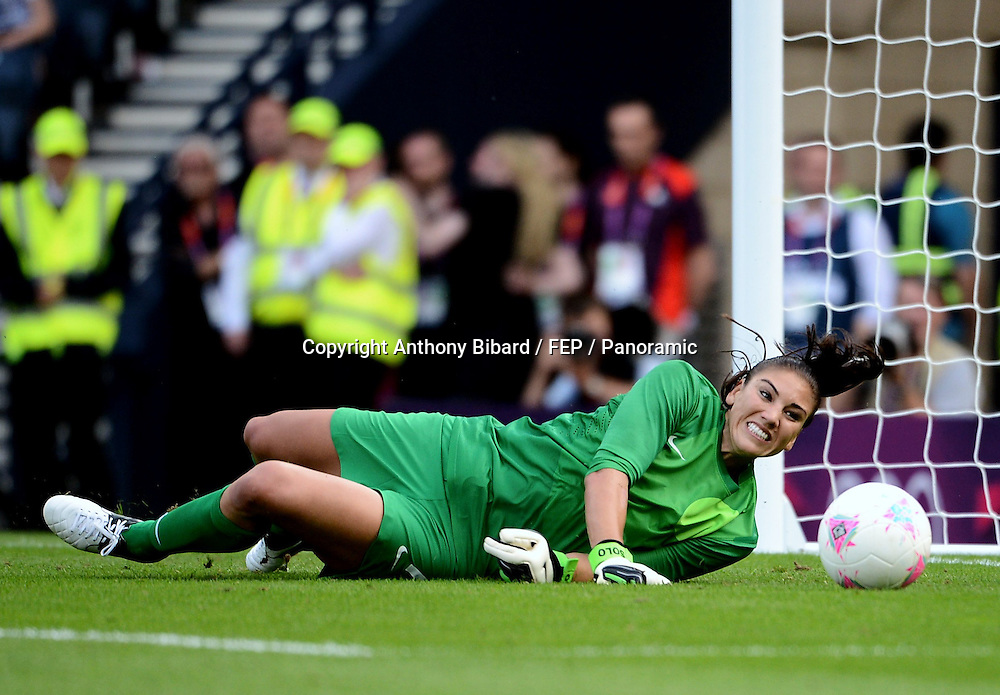 Hope SOLO (usa), FOOTBALL Womens : France vs United States, London 2012 Olympic Games, 25 July 2012. Photo: Panoramic/photosport.co.nz