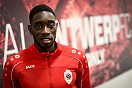 Royal Antwerp FC Press conference - 07 Sept 2017
