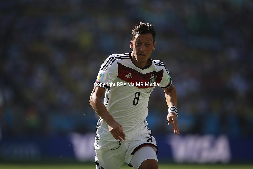 Mesut Oezil. France v Germany, quarter-final. FIFA World Cup Brazil 2014. 4 July 2014