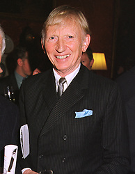 SIR MARTIN BERTHOUD at a reception in London on 20th April 1999.<br /> MRF 50 MORO