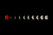&copy; Copyright 2018 by Stefan Reimschuessel. <br /> All Rights Reserved.<br /> stefan@reimsphotography.com<br /> http://reimsphotography.com/<br /> 27/07/2018<br /> The longest lunar eclipse of the 21st century in the night from 27th to 28th July 2018 above the city of Geneva in Switzerland. The period of totality during this eclipse, when Earth's shadow is directly across the moon and it is at its reddest, will last 1 hour, 42 minutes and 57 seconds. The next eclipse to last that long will occur on June 9, 2123. Visible near the moon is also Mars, which is in opposition and at its brightest in 15 years.