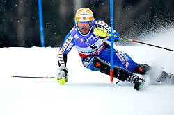 17.02.2013, Planai, Schladming, AUT, FIS Weltmeisterschaften Ski Alpin, Slalom, Herren, 1. Durchgang, im Bild Andre Myhrer (SWE) // Andre Myhrer of Sweden in action during 1st run of the mensSlalom at the FIS Ski World Championships 2013 at the Planai Course, Schladming, Austria on 2013/02/17. EXPA Pictures © 2012, PhotoCredit: EXPA/ sportbild. se/ Nisse Schmidt ***** ATTENTION - OUT OF SWE *****