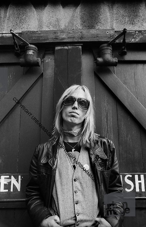 Tom Petty - Photo was taken behind the studio that they were using in San Francisco in  1979