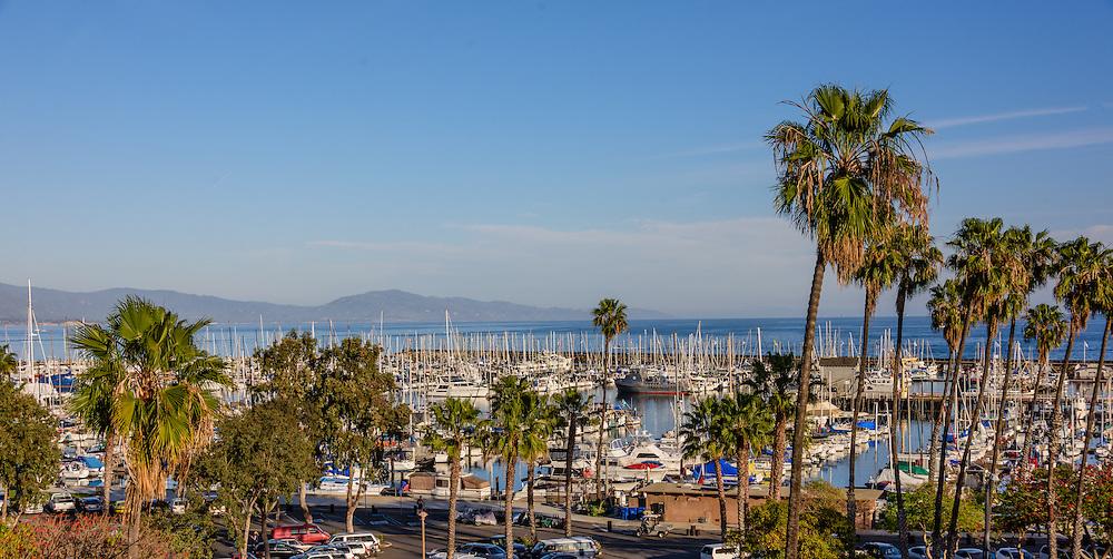Santa Barbara Harbor, Marina, Santa Barbara, California