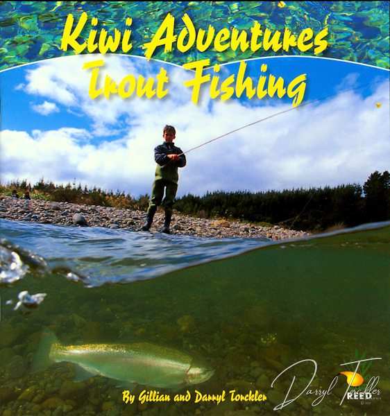 Limited stock, down to the last 18 books. Free postage in New Zealand.<br /> <br /> This combination of a story about a boy learning to trout fish with his grandad includes enough information to get any young person interested in trout fishing. Ian and his grandad prepare for thier fishing trip to a Tongariro river. Ian learns to cast; how to spot trout; and begins to understand thier life cycle. And of course he lands a big one! Softcover, 24 pages. ISBN Number: 186948732X