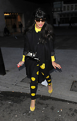 Jameela Jamil at BBC Radio 1 in central London, UK. 30/01/2013<br />BYLINE MUST READ : GOTCHAIMAGES.COM<br /><br />Copyright by © Gotcha Images Ltd. All rights reserved.<br />Usage of this image is conditional upon the acceptance <br />of Gotcha Images Ltd, terms and conditions available at<br />www.gotchaimages.com