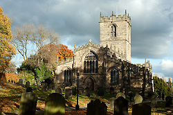 "Saint Marys Church Ecclesfield also Known as ""The Minster of The Moors"" the final resting place of Rev.Alexander John Scott, Chaplain and close personal friend of Admiral Lord Nelson...It was to Rev. Alexander John Scott that Nelson spoke his last words ""God and my country.""  below decks of the Flagship HMS victory at the Battle of Trafalgar. Nelson died at 16:35 on the 21 October 1805. His friend Scott lived to the age of 72 and died in 1840. Its odd that Scott should have  been buried in Ecclesfield. He was not born in the area and didn't live in the area. He was in Ecclesfield visiting his daughter when he was taken ill and subsequently died. What is stranger is travel five miles  by road and under what is now a Tesco car park is where the Walker Iron Works of Masbrough was. They cast about 80 of the 105 guns carried by HMS Victory into Battle at Trafalgar. Closer still is the village of Grenoside, only two and a half miles away, where Samuel and Aaron Walker began to manufacture Iron in the early 1740s before relocating and starting in 1746 at Walker Iron Works of Masbrough. ..7th November 2010.Images © Paul David Drabble"