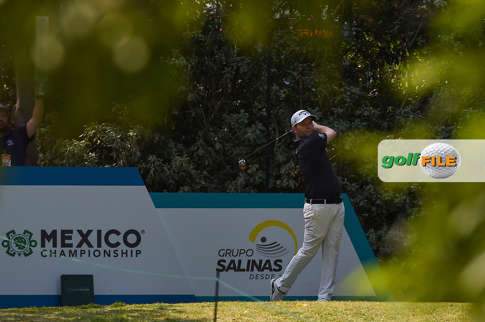 Brandon Grace (RSA) watches his tee shot on 4  during Rd4 of the World Golf Championships, Mexico, Club De Golf Chapultepec, Mexico City, Mexico. 2/23/2020.<br /> Picture: Golffile | Ken Murray<br /> <br /> <br /> All photo usage must carry mandatory copyright credit (© Golffile | Ken Murray)