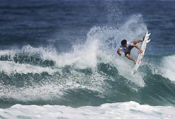December 16, 2017 - Banzai Pipeline, HI, USA - BANZAI PIPELINE, HI - DECEMBER 16, 2017 - Italo Ferreira of Brazil competes in Round 1 of the  Billabong Pipe Masters. (Credit Image: © Erich Schlegel via ZUMA Wire)