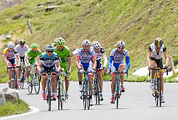 03.07.2013, Fuscher Lacke, Grossglockner Hochalpenstrasse,  AUT, 65. Oesterreich Rundfahrt, 4. Etappe, Matrei in Osttirol - St. Johann Alpendorf, im Bild das Feld // during the 65 th Tour of Austria, Stage 4, from Matrei in Osttirol to St. Johann Alpendorf, Grossglockner Hochalpenstrasse, Austria on 2013/07/03. EXPA Pictures © 2013, PhotoCredit: EXPA/ Johann Groder
