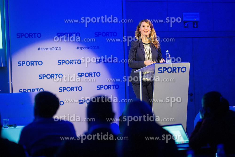 Alexandra Willis (All England lawin tennis club - Wimbeldon) during Sports marketing and sponsorship conference Sporto 2015, on November 19, 2015 in Hotel Slovenija, Congress centre, Portoroz / Portorose, Slovenia. Photo by Vid Ponikvar / Sportida