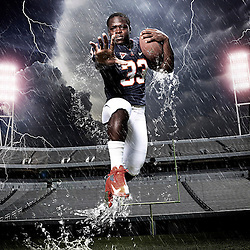 Kyle Green / The Roanoke Times<br /> 8/1/2012  Perry Jones, University of Virginia football running back, Senior, 5' 8&quot;, 185 lbs.