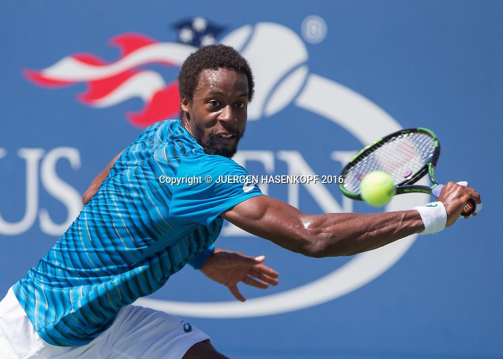 GAEL MONFILS (FRA)<br /> <br /> Tennis - US Open 2016 - Grand Slam ITF / ATP / WTA -  USTA Billie Jean King National Tennis Center - New York - New York - USA  - 4 September 2016.