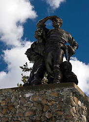 Donner Party monument, Donner Memorial State Park, Truckee, California, United States of America
