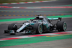 February 26, 2018 - Barcelona, Catalonia, Spain - the Mercedes of Valtteri Bottas during the tests at the Barcelona-Catalunya Circuit, on 26th February 2018 in Barcelona, Spain. (Credit Image: © Joan Valls/NurPhoto via ZUMA Press)