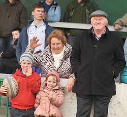 Some of the O'Toole clan from Inishturk supporting Westport at the rugby cup final.<br /> Pic Conor McKeown