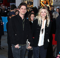 Fearne Cotton & Jesse Wood, The Rolling Stones Exhibitionism - Opening Night Gala, Saatchi Gallery, London UK, 04 April 2016, Photo by Brett D. Cove
