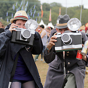Atmosphere & Crowd at Bestival 2011