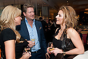 FRU THOLSTRUP; ; SOREN THOLSTRUP; JULIE SULEYMAN; , Fine Wine and Dine in aid of  Sick Children's Trust. Cafe Anglais. London. 1 March 2012