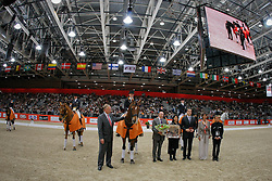 Pricegiving World Cup Qualifier by Hermes<br /> CDI-W Lyon 2009<br /> © Dirk Caremans