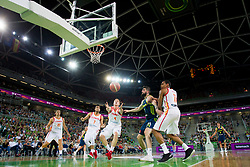 Alberto Diaz of Spain during basketball match between Slovenia and Spain in Round #5 of FIBA Basketball World Cup 2019 European Qualifiers, on June 28, 2018 in SRC Stozice, Ljubljana, Slovenia. Photo by Urban Urbanc / Sportida