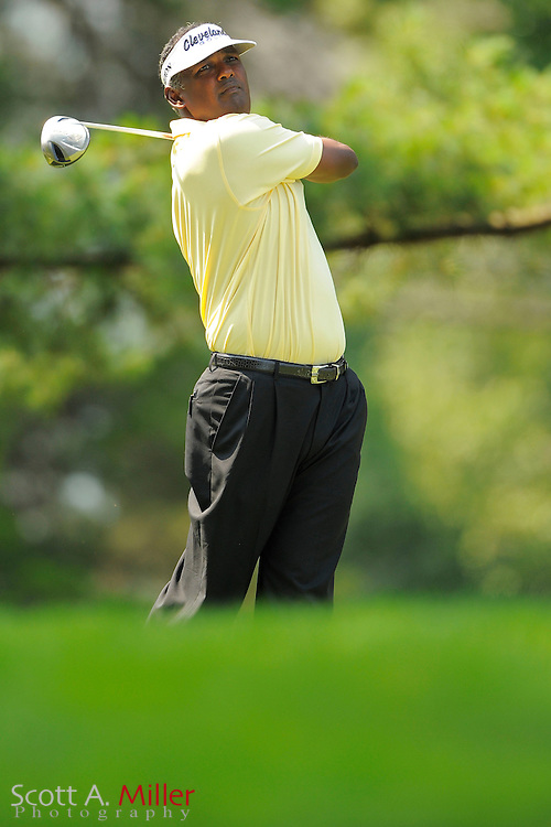 Vijay Singh during the third round of the AT&T National at Congressional Country Club on June 30, 2012 in Bethesda, Maryland. ..©2012 Scott A. Miller