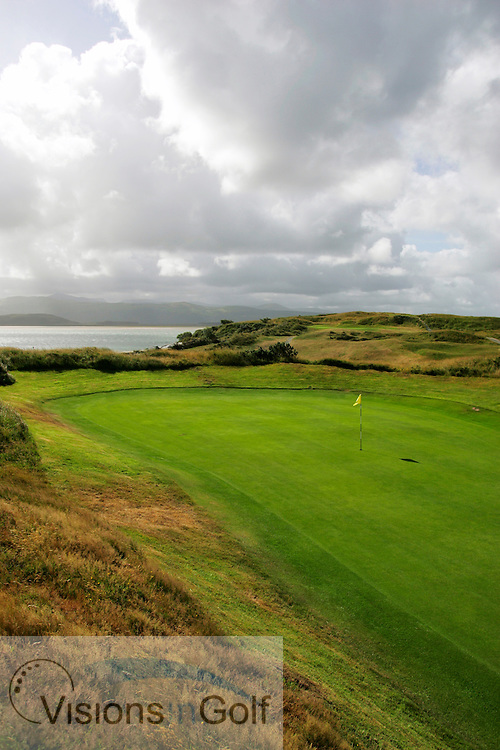 15th hole, Porthmadog GC, Wales<br /> <br /> photo Mark Newcombe