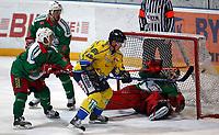Ishockey , Get - ligaen <br /> 04.04.08 2008 NM Finale 6 av 7 <br /> Hamar OL-Amfi<br /> Storhamar  Dragons  v  Frisk  Asker<br /> <br /> Foto:Dagfinn Limoseth  -  Digitalsport<br /> <br /> Her setter Teemu Kohvakka , Storhamar inn 2-2 målet