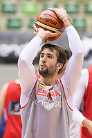 Nacho Llovet during training session of Spain national team before european qualifiers to World Cup 2019 at Coliseum Burgos in Madrid, Spain. November 26, 2017. (ALTERPHOTOS/Borja B.Hojas)