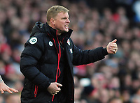 Football - 2016 / 2017 Premier League - Arsenal vs. Bournemouth<br /> <br /> Eddie Howe Bournemouth Manager at The Emirates.<br /> <br /> COLORSPORT/ANDREW COWIE